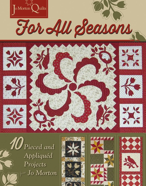 10 pieced and applique projects