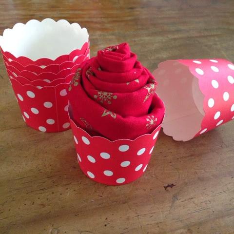 Fat quarter Cupcake