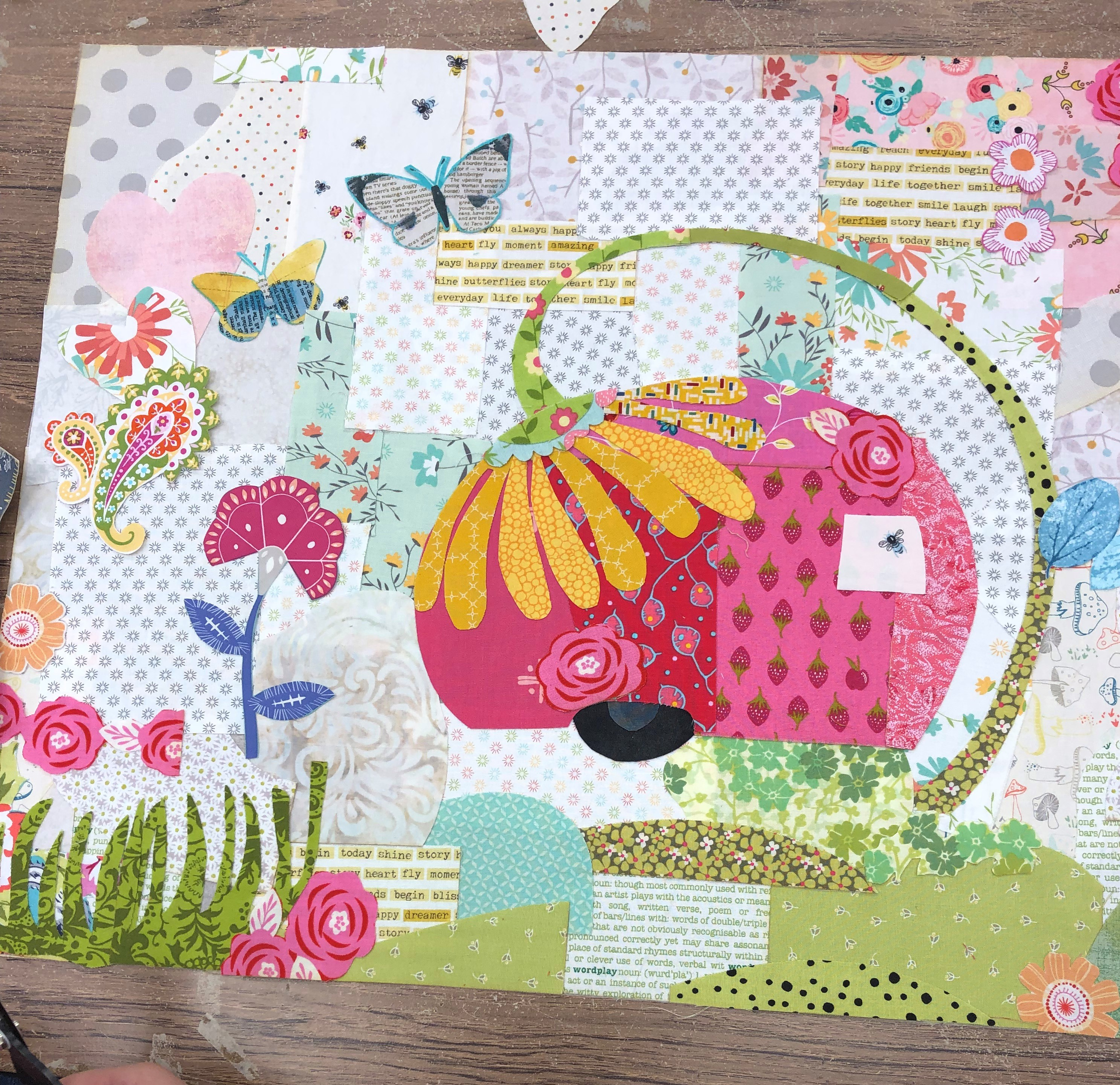 Everything Fabric Collage Country Sampler Quilts